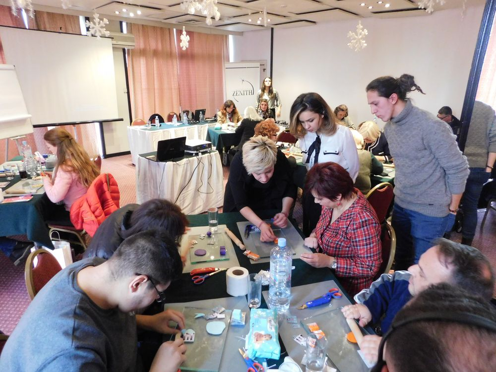 """Second training – Training for """"Advanced eco-friendly handicraft production and packaging"""""""