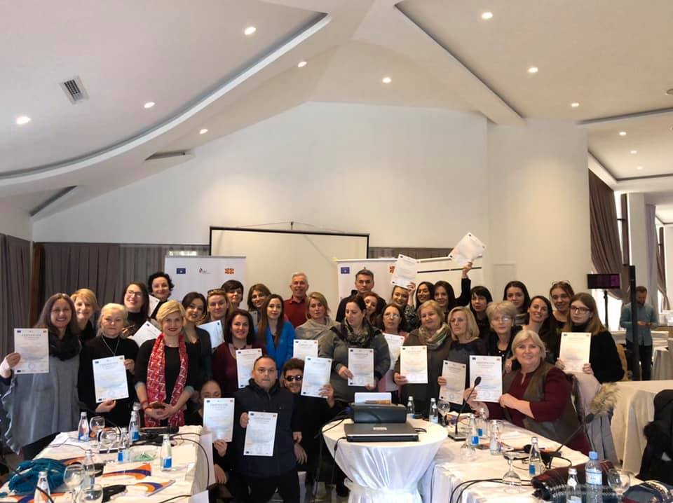 "Fourth training – Training for ""Innovating handicraft design in line with expectations of customers from developed markets"""