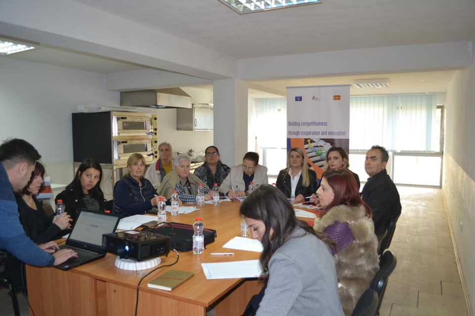 "Today in Gjilan was held the Work Shop ""Sale through online platform"""